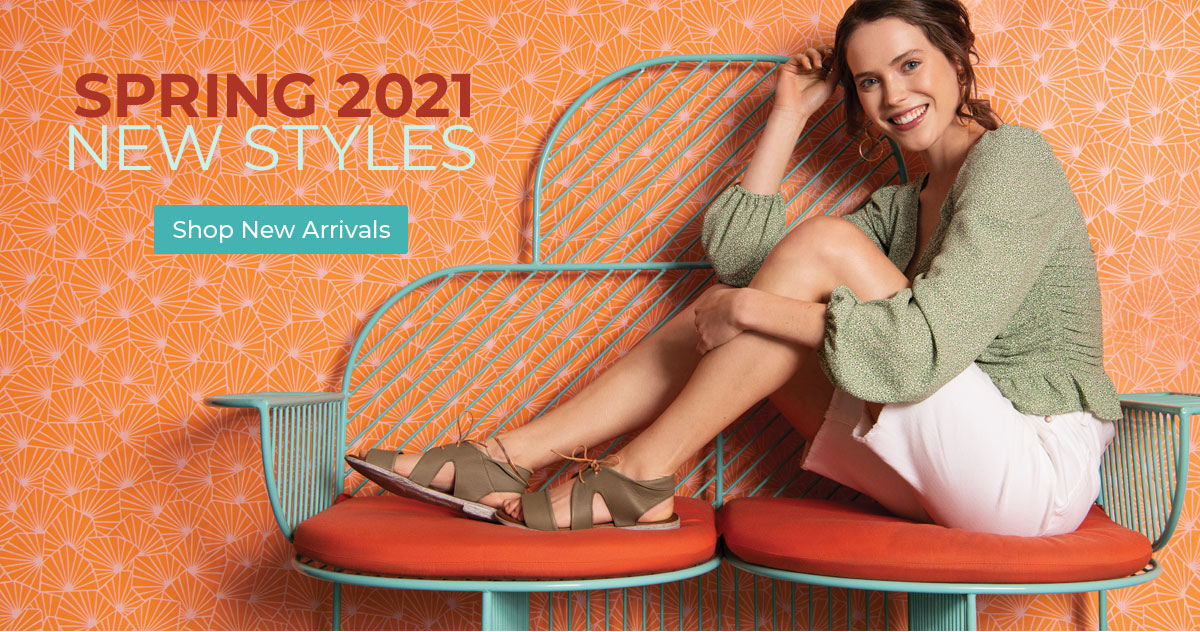 Spring 2021 New Styles. Shop New Arrivals.