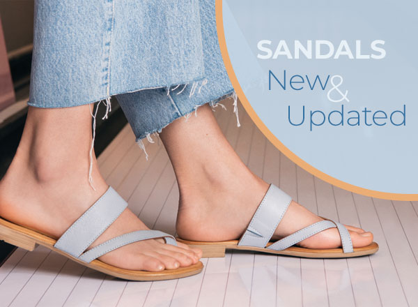 Sandals New and Updated