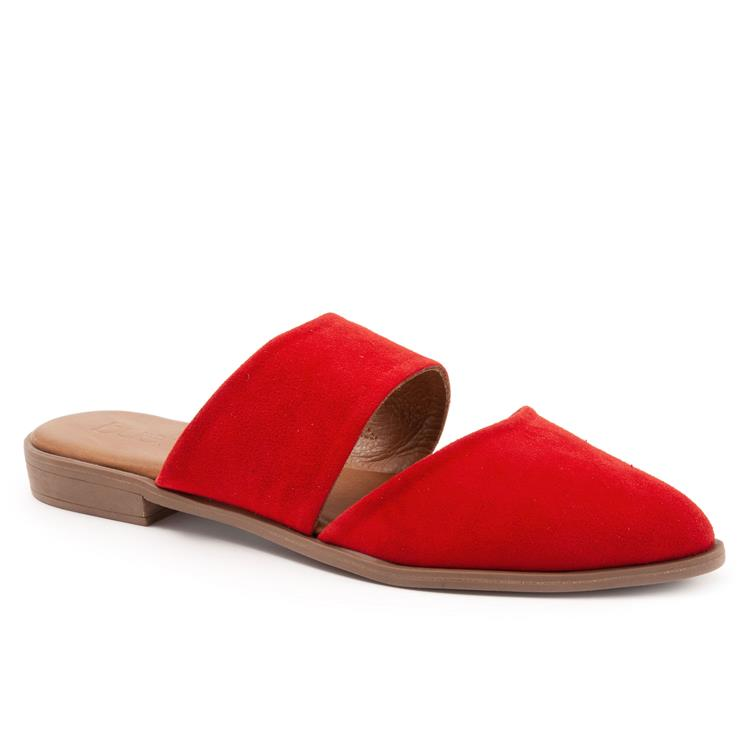 Banks Red Suede