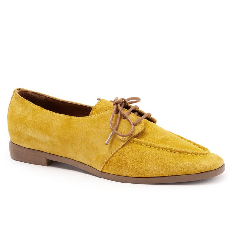 Georgia Lemon Suede