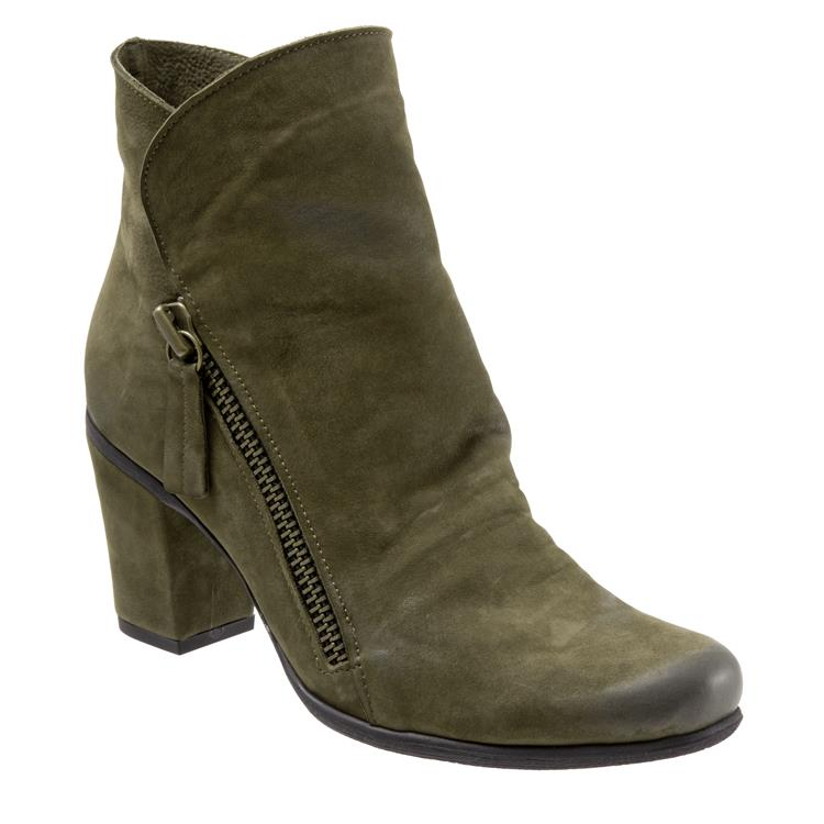 Yountville Army Green Nubuck